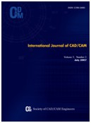 International Journal of CAD CAM
